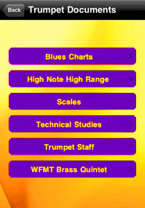 trumpet app documents