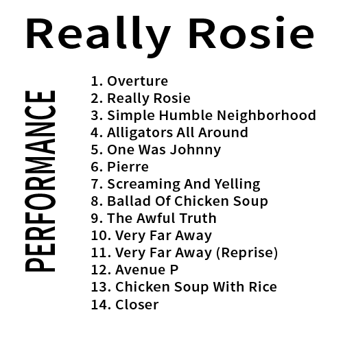Really Rosie Performance