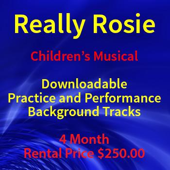 Really Rosie Children\'s Play Theatre Background Tracks Rental