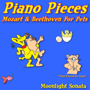 Mozart and Beethoven For Pets Moonlight